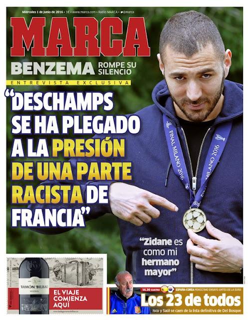 Equipe de France : Karim Benzema se dit victime de racisme
