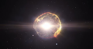 tis image contains galaxy with a particle