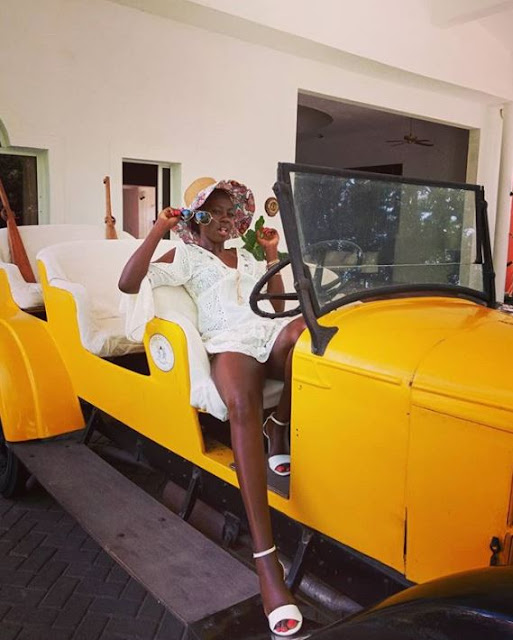 """Dr. Singer Akothee Recommends: """"A Leg$pread a Day Keeps Poverty Away"""""""