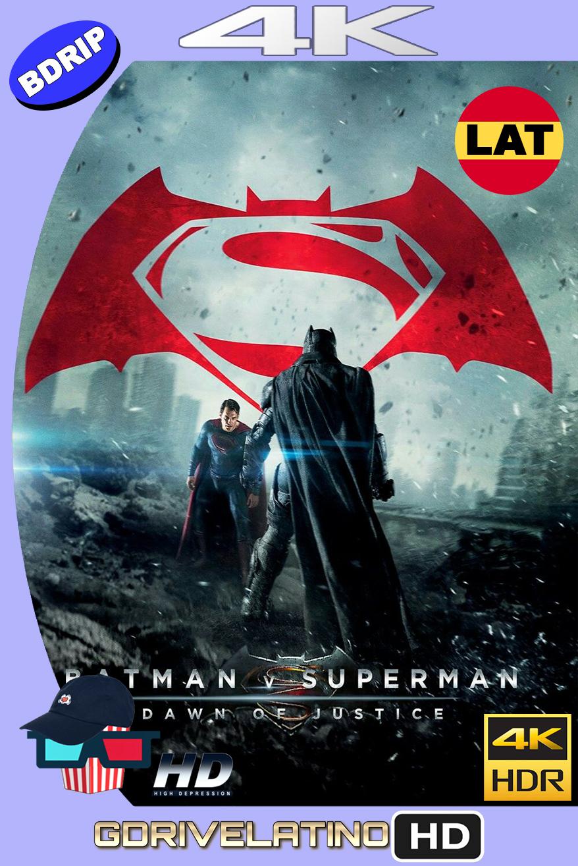 Batman vs Superman : El Origen de la Justicia (2016) EXTENDED CUT BDRip 4K HDR Latino-Ingles MKV