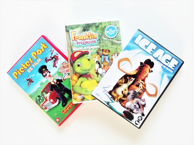 bajki dvd prezent dla dziecka