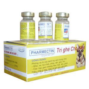 Thuốc tiêm đặc trị ve chó PHARMECTIN
