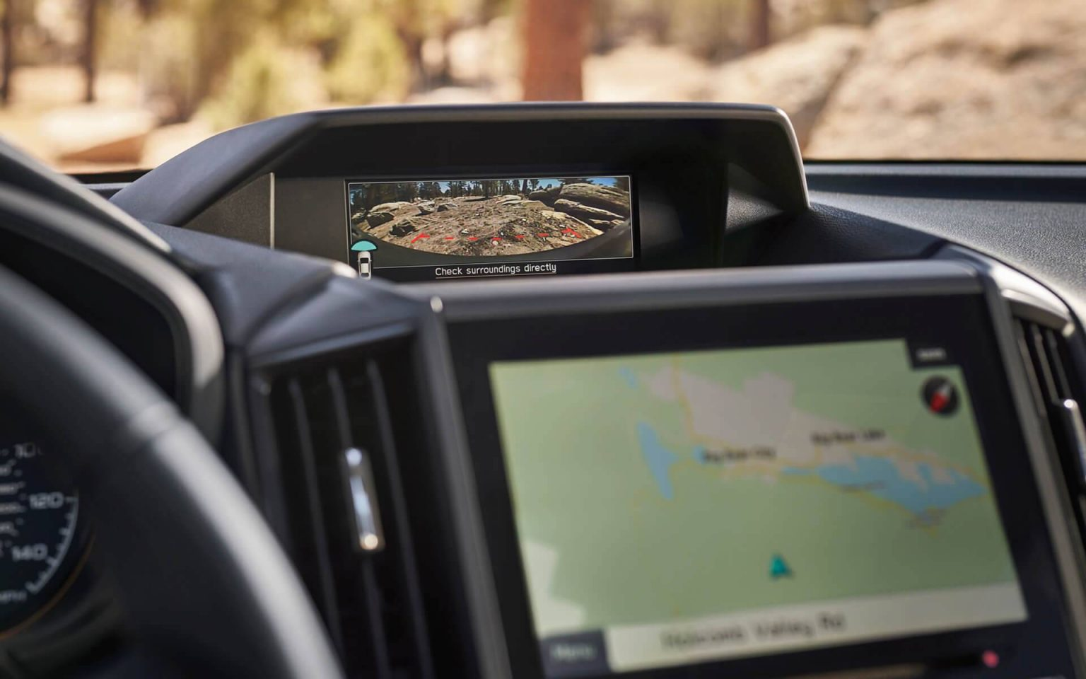 سوبارو فورستر 2022 GPS map