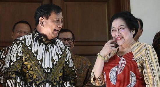 Prabowo Larang Kader Gerindra Serang Megawati