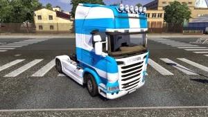 Taganrog skin for Scania Streamline