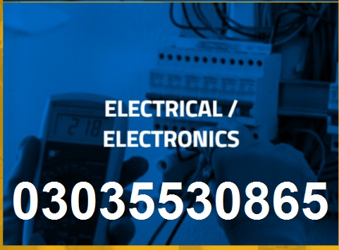 ELECTRICIAN AND TECHNICIAN EXPERIENCED BASED DIPLOMA3035530865-3219606785