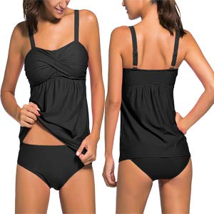 Actloe Women's Two Pieces Swimwear