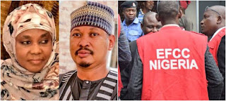 Nigerian First Lady Dragged To EFCC By Her Son On Allegations Of Fraud