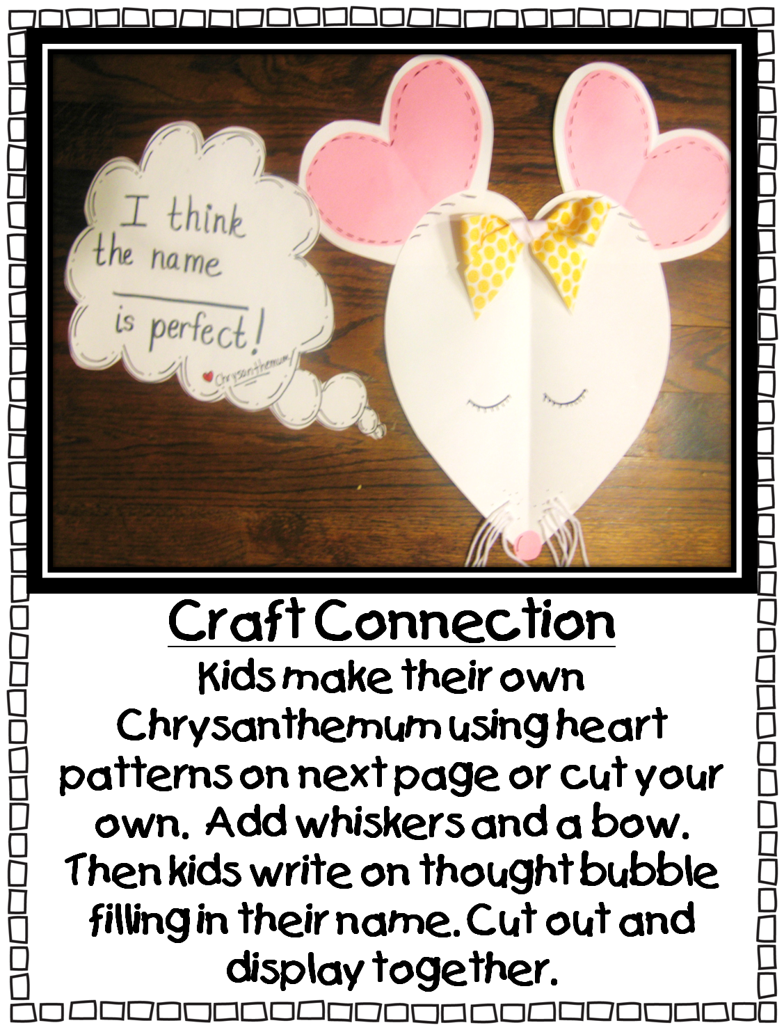 First Grade Wow Chrysanthemum What A Perfect Name