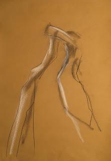 210 - ©Edith Smets -  Couple de tango 35/50 pastel