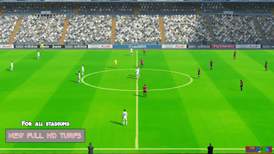 Pes 13 New Full HD Turfs Pack (48 Sta) By TopHardSoft