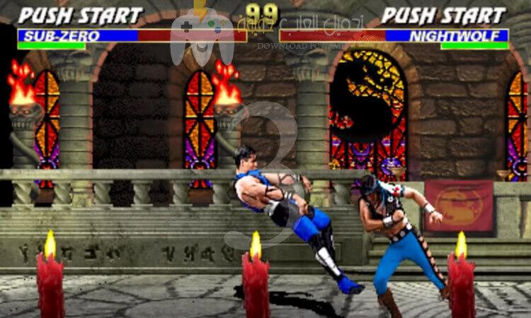 تحميل جميع اجزاء لعبة Mortal Kombat للكمبيوتر