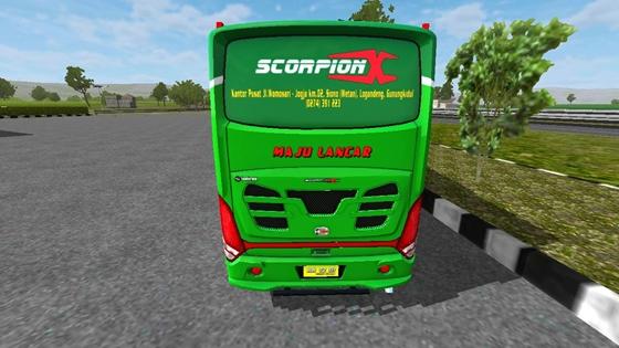 mod scorpion x bsw bussid