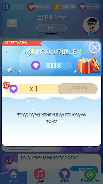 cara cheat diamond piano tiles 2 tanpa root