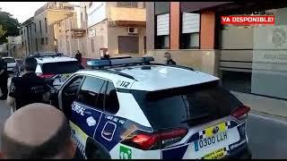 Asociación de Jefes y Mandos de Policía Local de la Comunidad Valenciana aplaude la actuación de la policía local de Alfafar