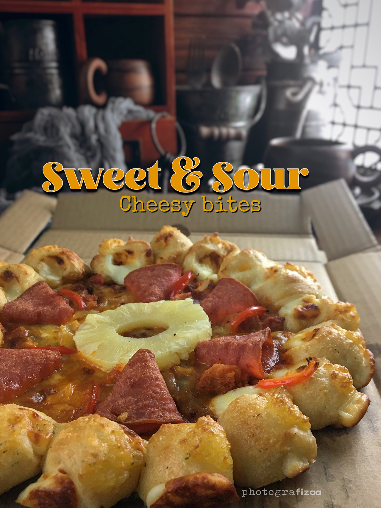 Sweet & Sour Cheesy Bites