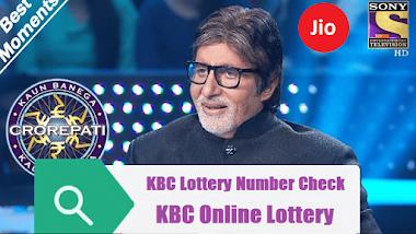KBC Lottery Winner 2021 List - Check KBC Lottry NO Online