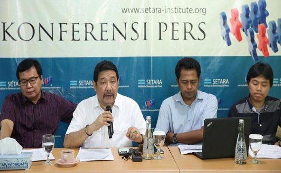 Setara Institute Anggap Jokowi Rusak Reformasi Keamanan