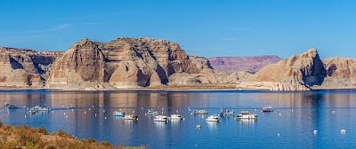 Glamping at Lake Powell, a Sunset and a walk through Lower Antelope Canyon