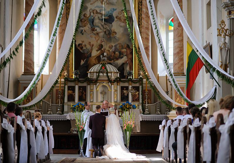 santuoka Mosėdžio šv. arkangelo Mykolo bažnyčioje