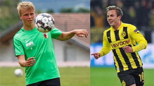 Anh em nhà Goetze đã về chung một giải đấu Bundesliga