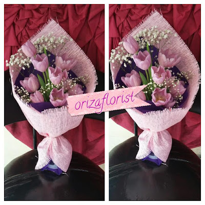toko bunga tulip di surabaya, penjual bunga tulip di surabaya, beli buket bunga surabaya