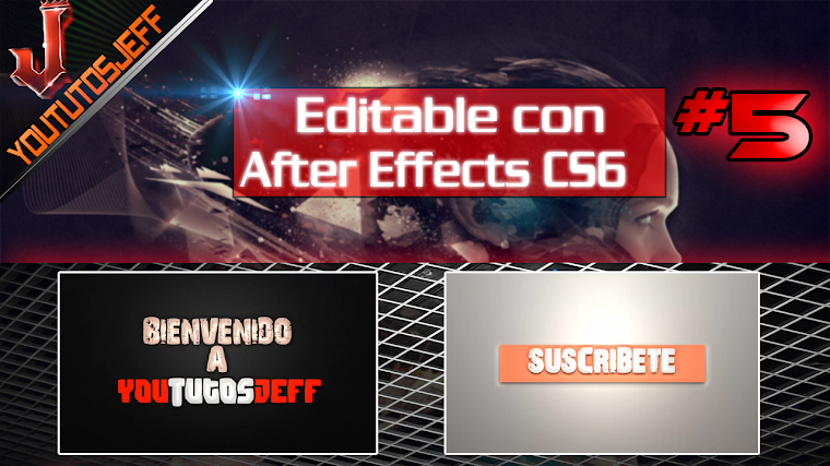 Intro Editable #5 con after effects CS6 | 2016