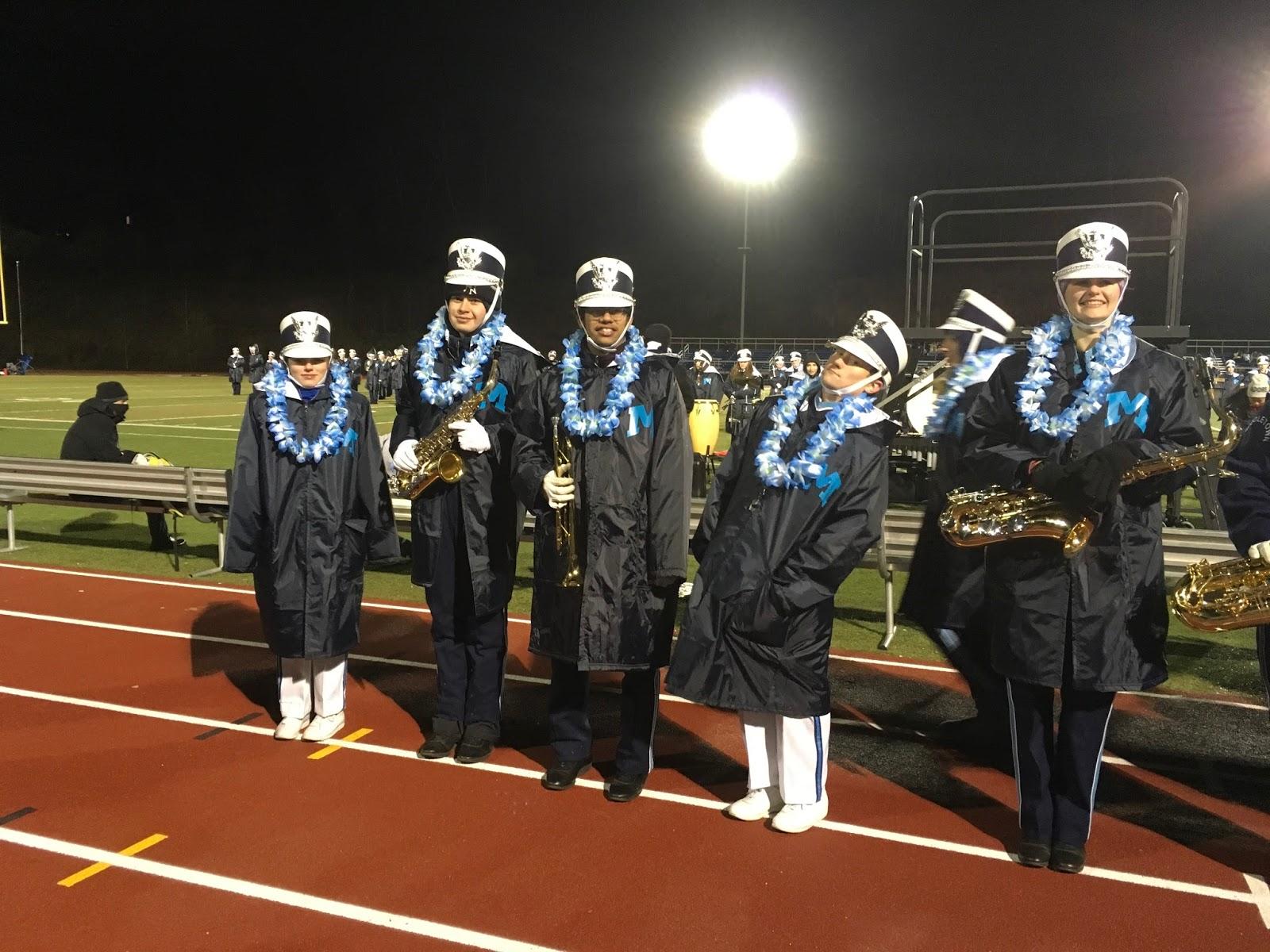 Middletown High School Bands Football Game Senior Night!