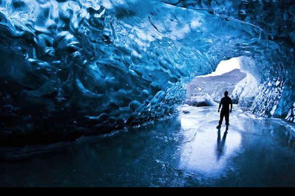 Lugar Increíble, Cueva de Hielo en Skaftafell, Islandia 1