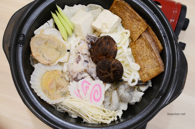 Kaisen Chankonabe – RM38.90 (spicy miso soup)