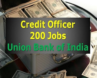 Credit officer union bank of India recruitment