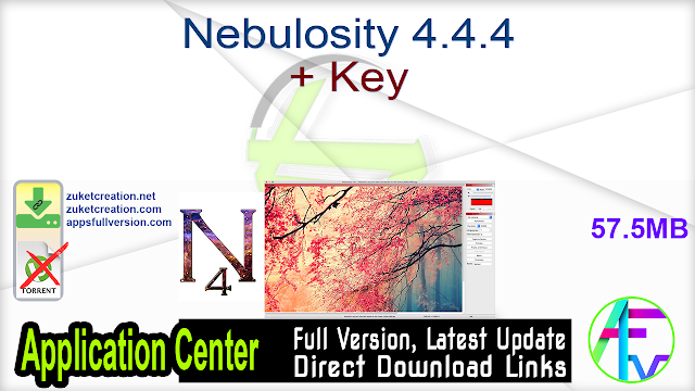 Nebulosity 4.4.4 + Key