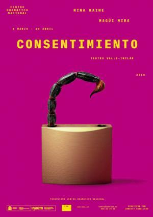 """Teatro:""""Consentimiento"""" en Teatro Valle Inclán"""