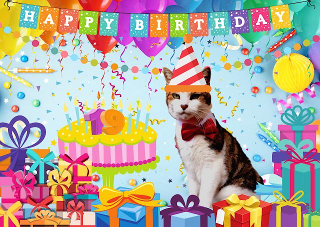 Happy 19th Birthday Basil ©BionicBasil®