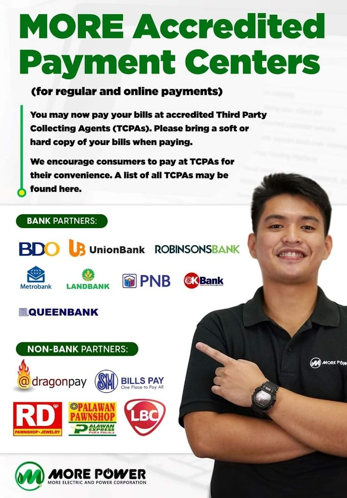 MORE Power Accredited Payment Centers