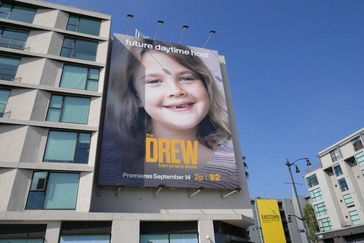 Drew Barrymore Show younger billboard