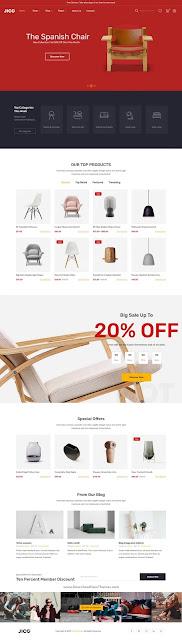 Furniture & Decor for WooCommerce WordPress Theme