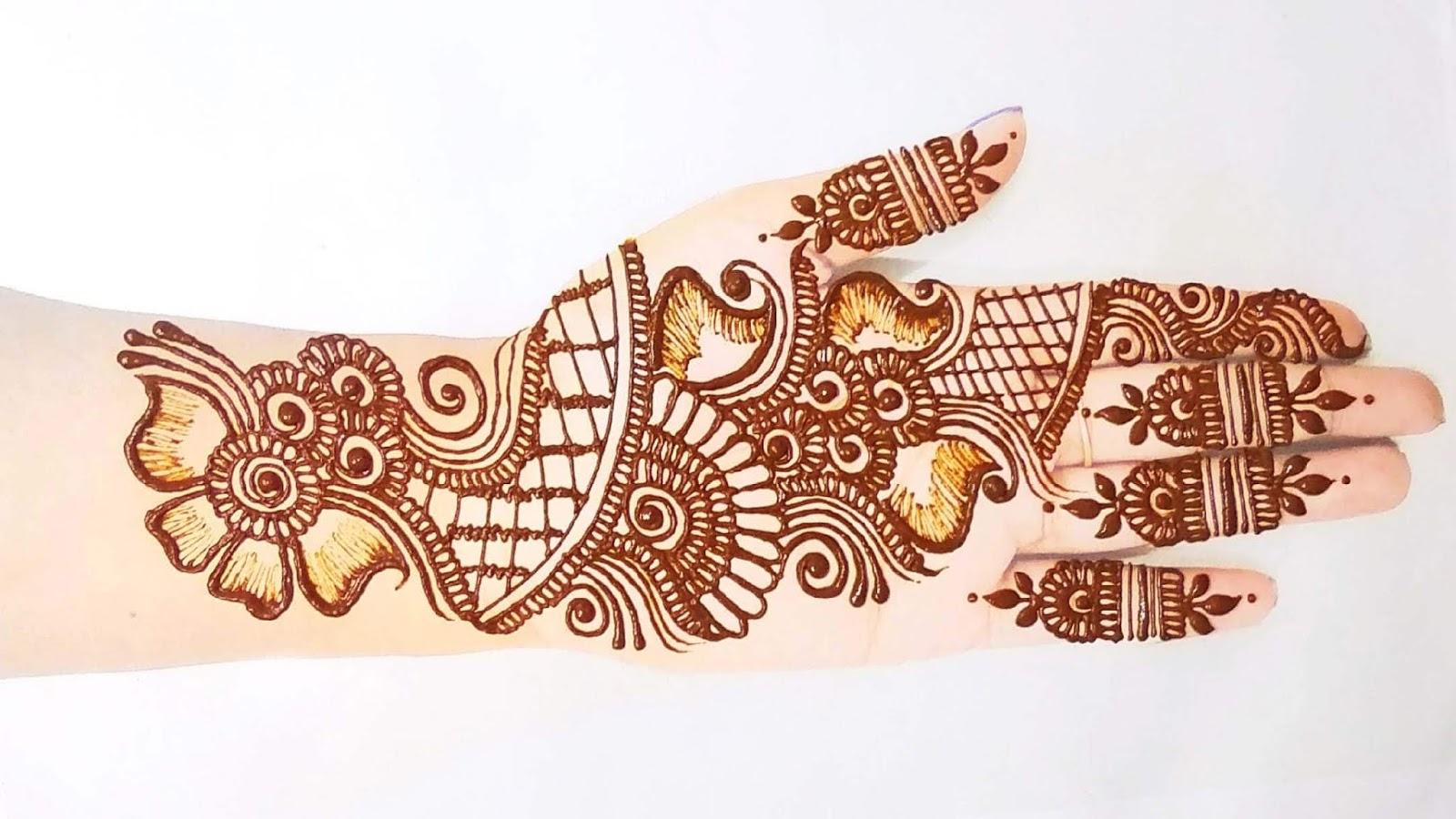 Ganesh Festival Mehndi Design