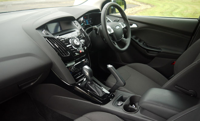Ford Focus Electric interior