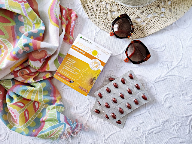 Arkopharma bronceado Arkosol Intensivo sol verano beauty belleza complementos alimenticios salud farmacia natural