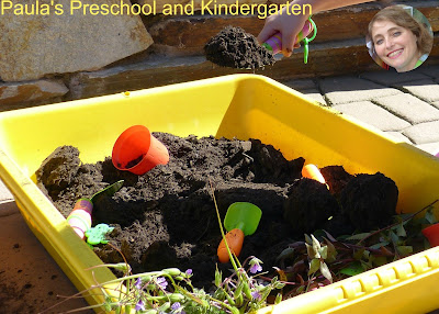 See how our preschool children had fun learning about plants with hands on science activities and experiences!