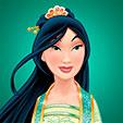 Invitacion de Cumpleaños de Mulan Princesas Disney