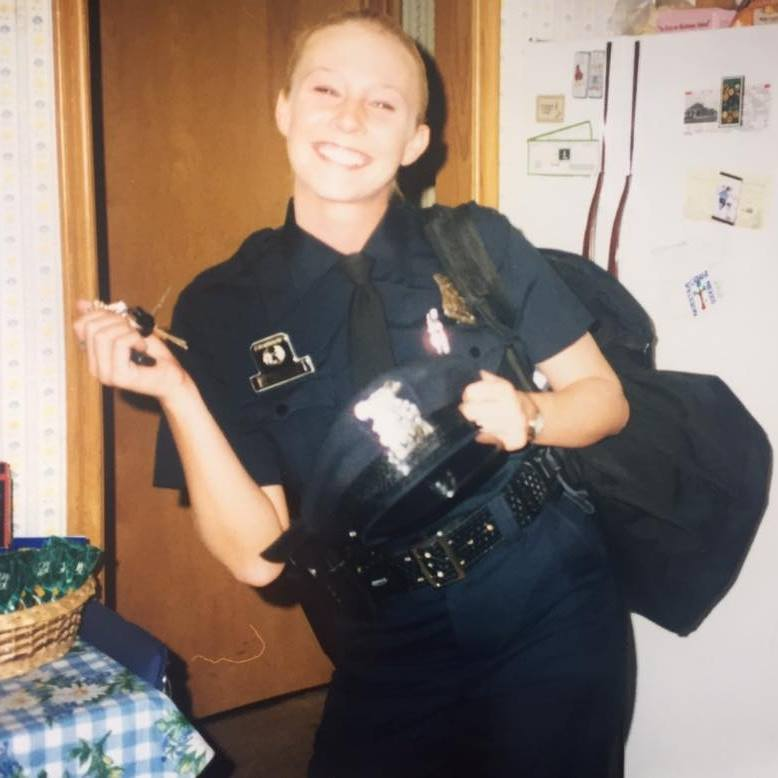Cop Photo Goes Viral: Setting The Record Straight: Former Police Officer's Post
