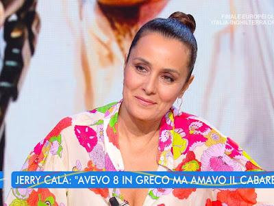 Roberta Capua foto estate in Diretta 15 luglio
