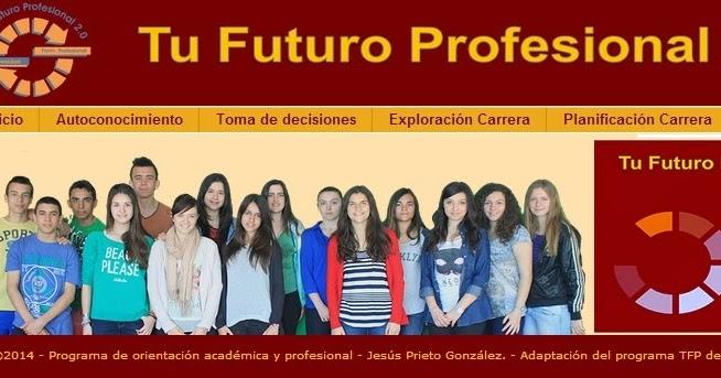 Resultado de imagen de tu futuro profesional2.0