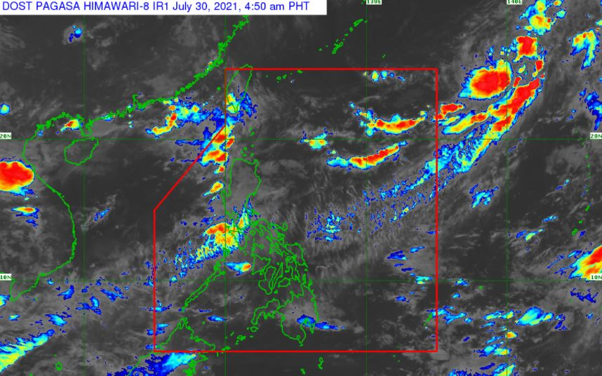 'Habagat' PAGASA weather update July 30, 2021