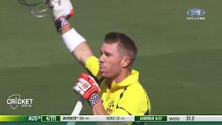 David Warner 156 vs New Zealand Highlights