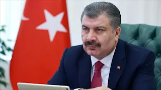 وزير الصحة يكشف عن حصيلة اليوم من الإصابات والوفيات بفايروس كورونا في تركيا