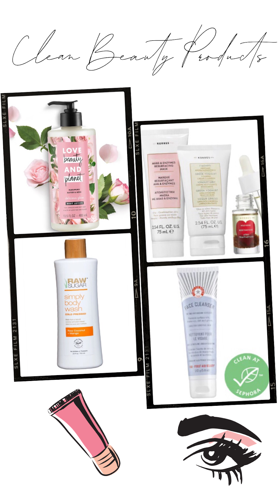 The 5 Clean Beauty Products & Brands You Need to Use - Affordable by Amanda - Shares Her Top Clean Beauty Favorites