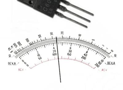 Cara mengukur Transistor Regulator TV